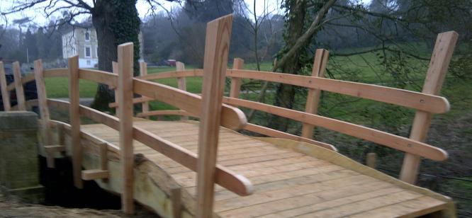 Bridge at Escot Park