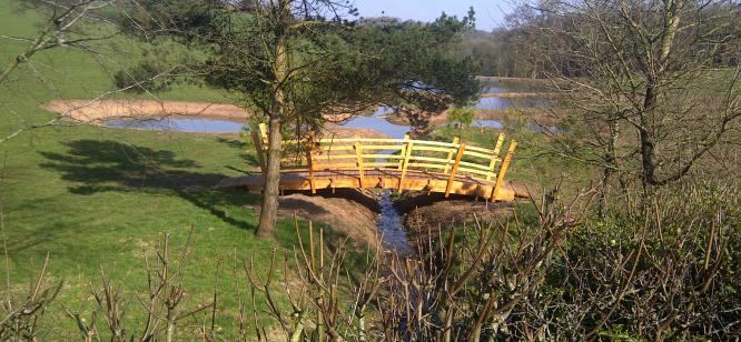 Bridge at Hockworthy House.
