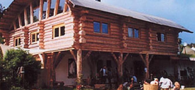Log house Mutzingen Germany