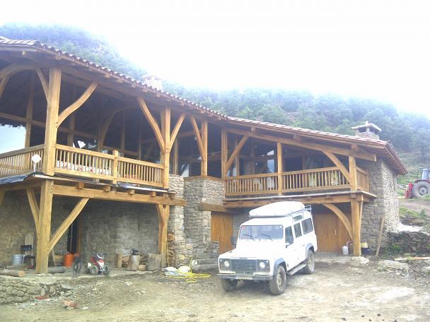 New Timberframe in Catalunya