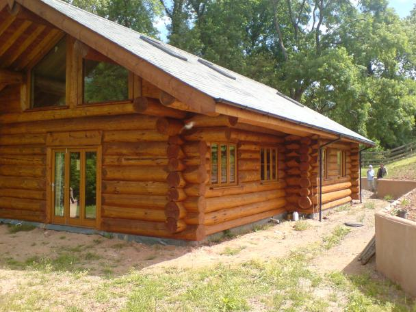 3 bed,Log House Image