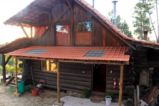 Log House from Eucalyptus (Portugal) Image
