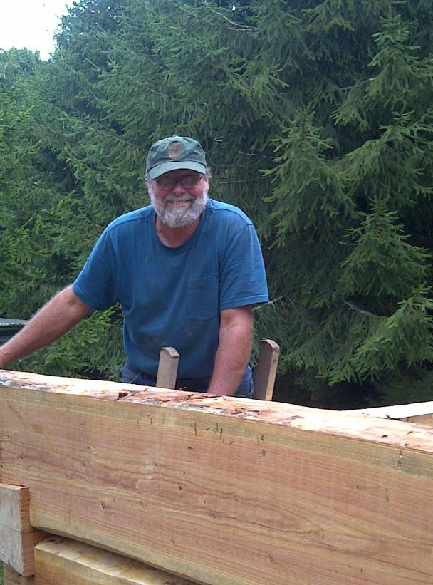 2011 dovetail log cabin course with higgs murphy  Image