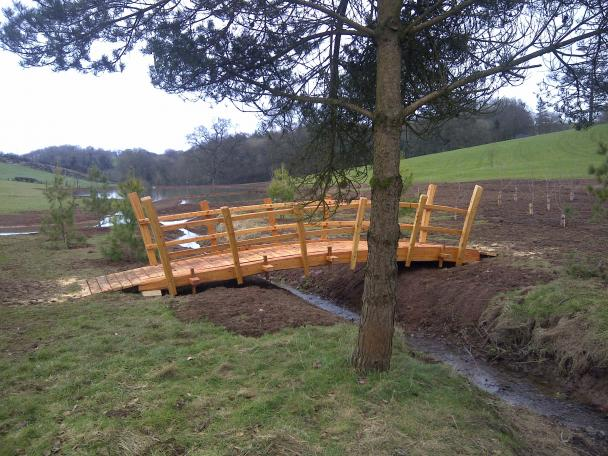 Bridge For Hockworthy House.  Image