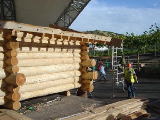 Eden Project Ice Rink Cabin  Image