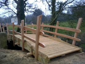 "Bridge for Escott Park ""Beautiful Days""  Festival site."