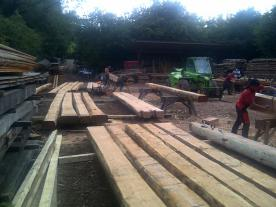 2011 dovetail log cabin course with higgs murphy