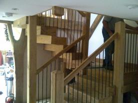 Oak Stair Case.